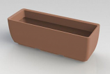 "RTS Elevated Planter w/ Stand in Terra Cotta - 30"" X 10"""