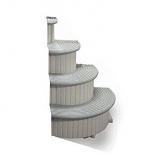 Confer Plastics Ccxaddon Confer Curve Add On Unit Grey