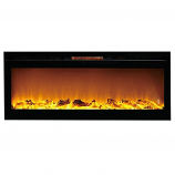 Regal Flame LW2060WL Astoria 60in Wall Mounted Electric Fireplace - Log