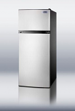 Frost-Free Refrigerator-Freezer With Icemaker - Stainless Steel