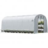 GrowIT Heavy Duty Round Greenhouse 12 x 24 x 8 ft.