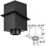 """24"""" Square Ceiling Support Box - 8"""""""