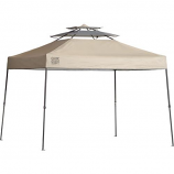 Shelter Logic 10 x 10 Quik Shade SX100 Straight Leg Canopy - Taupe
