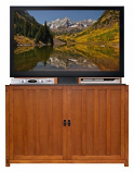 "Grand Elevate Anyroom Lift Cabinet for 60"" Flat Screen TV - Light Oak"