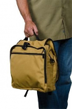 Backpack Briefcase - Tan By Blue Flame