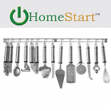 Wall Mountable 13-Piece Stainless Steel Tool and Gadget Set