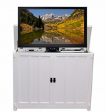 """Elevate TV Lift Cabinet for 50"""" Flat Screen - White Mission"""