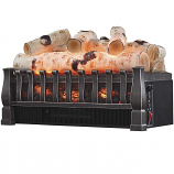 Regal Flame LW8053BRC 20in Electric Fireplace Bed Insert with Heater in Birch