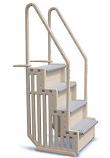 Confer Plastics STEP1X Swimming Pool 4 Steps Entry System - Grey