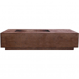 Prism Hardscapes Tavola 5 Fire Table in Cafe - LP