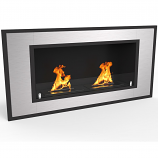 Regal Flame ER8014 Cynergy 43in Ventless Bio Ethanol Wall Mounted Fireplace
