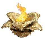 Anywhere Fireplace 90223 Chatsworth Indoor/Outdoor Fireplace - Gold