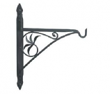 18'' Wrought Iron Fireplace Crane
