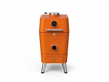 Everdure 4k Electric Ignition Charcoal/Electric Outdoor Oven - Orange