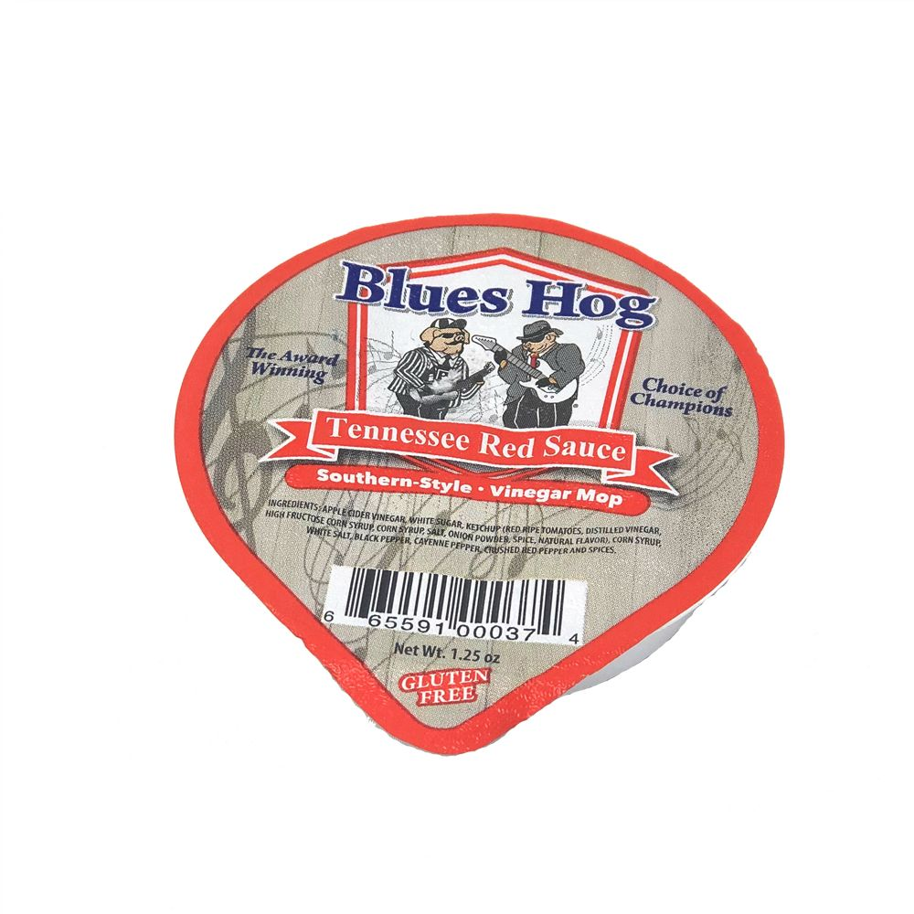 Blues Hog 1.25 oz Tennessee Red Sauce Foil Dipping Cup