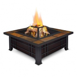 Morrison Fire Pit - Black By Real Flame