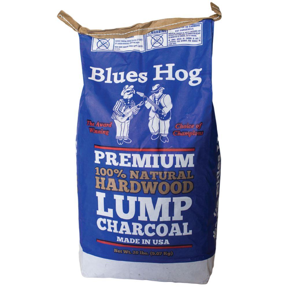 Blues Hog 20 Lbs Bag Natural Lump Charcoal