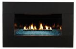 Loft Series 10K Btu, MV VF Insert w/(4 x 3) Black Surround, NG