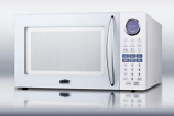 Large 1000W microwave in white