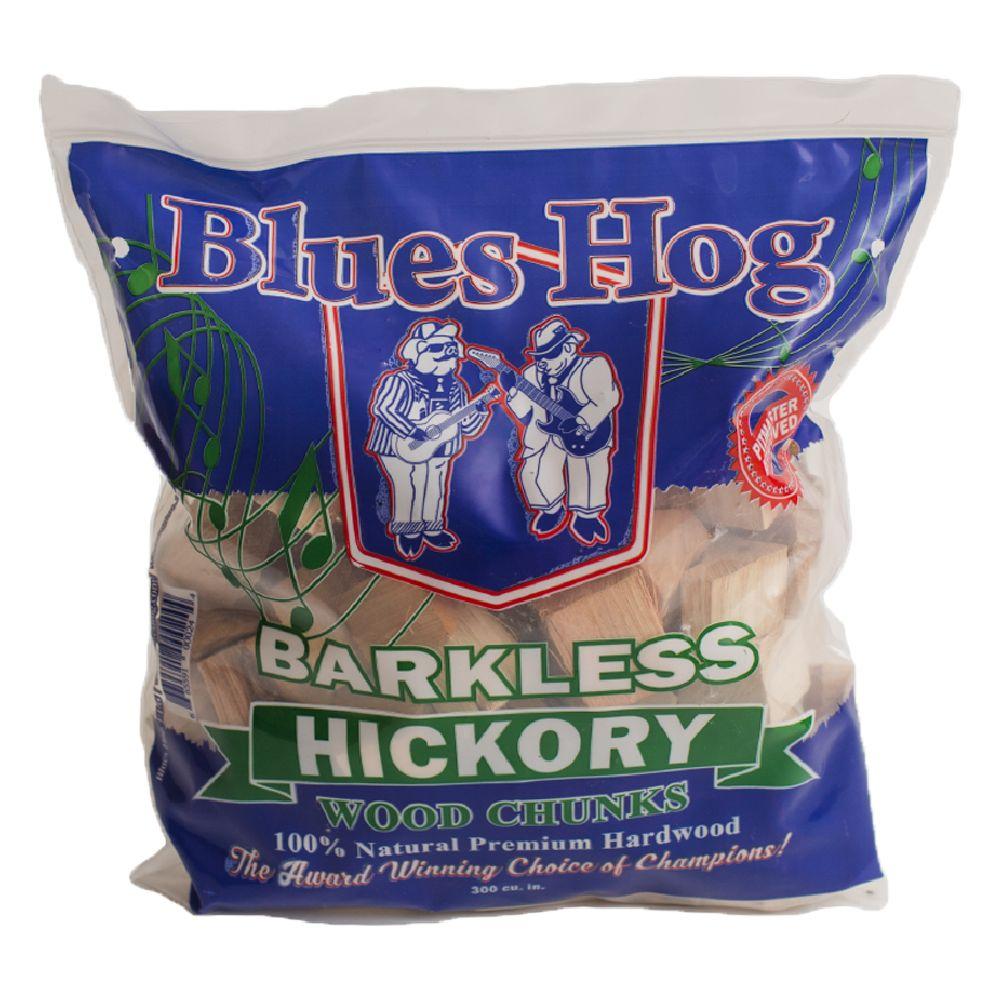 Blues Hog 300 Cubic Inch Barkless Hickory Wood Chunks