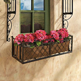 European Style Metal Window Box