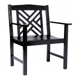 Fretwork Arm Chair Model OFC-10B