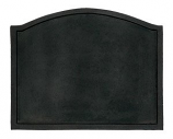 Plain Cast Iron Fireback