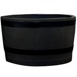 RTS Black Sanded Planter Barrel