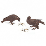Bronzed Doves Pair DOV01 By ACHLA Designs