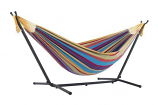 UHSDO9-20 Vivere's Combo - Double Tropical Hammock with Stand- 9ft