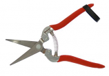 Zenport H302SC Harvest-Bunch Cutter Curved Stainless Steel Serrated Blade