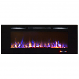 Regal Flame LW2060MC Astoria 60in Wall Mounted Electric Fireplace -MultiColor