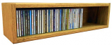 The Wood Shed 103-2 CD Storage Cabinet - Clear