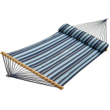 Quilted Reversible Hammock with Matching Pillow