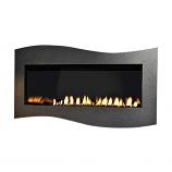 Boulevard IP Contemporary Linear Vent-Free 28k BTU Fireplace - NG