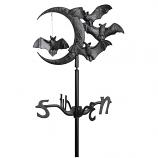 American Crafted Halloween Bat Garden Weathervane - Black