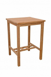 """Avalon 27"""" Square Bar Table By Anderson Teak"""