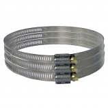 """Continental Fan SS Gear Clamp for 4"""" - 6"""" Duct"""