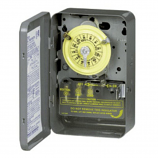 Intermatic T104 Time Switch DPST Type 1 Steel Enclosure 208-277 VAC