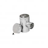 "6"" Selkirk Flexi-liner Aluminum Tee Cover"