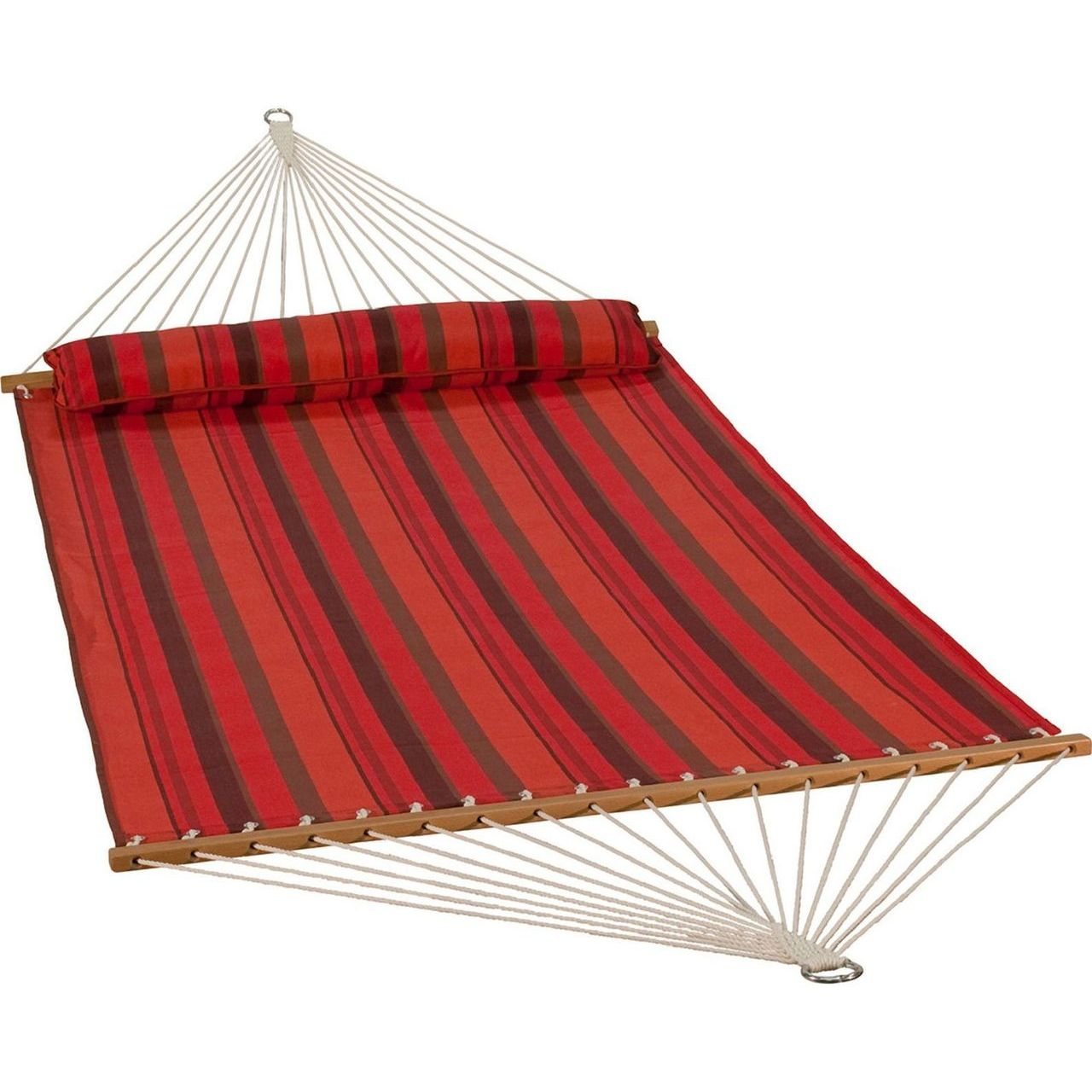 Gleason Quick Dry Hammock With Bolster - Sunset Stripe