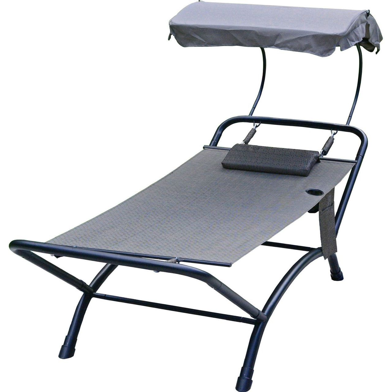 Gleason Deluxe 4 Point Lounger With Canopy