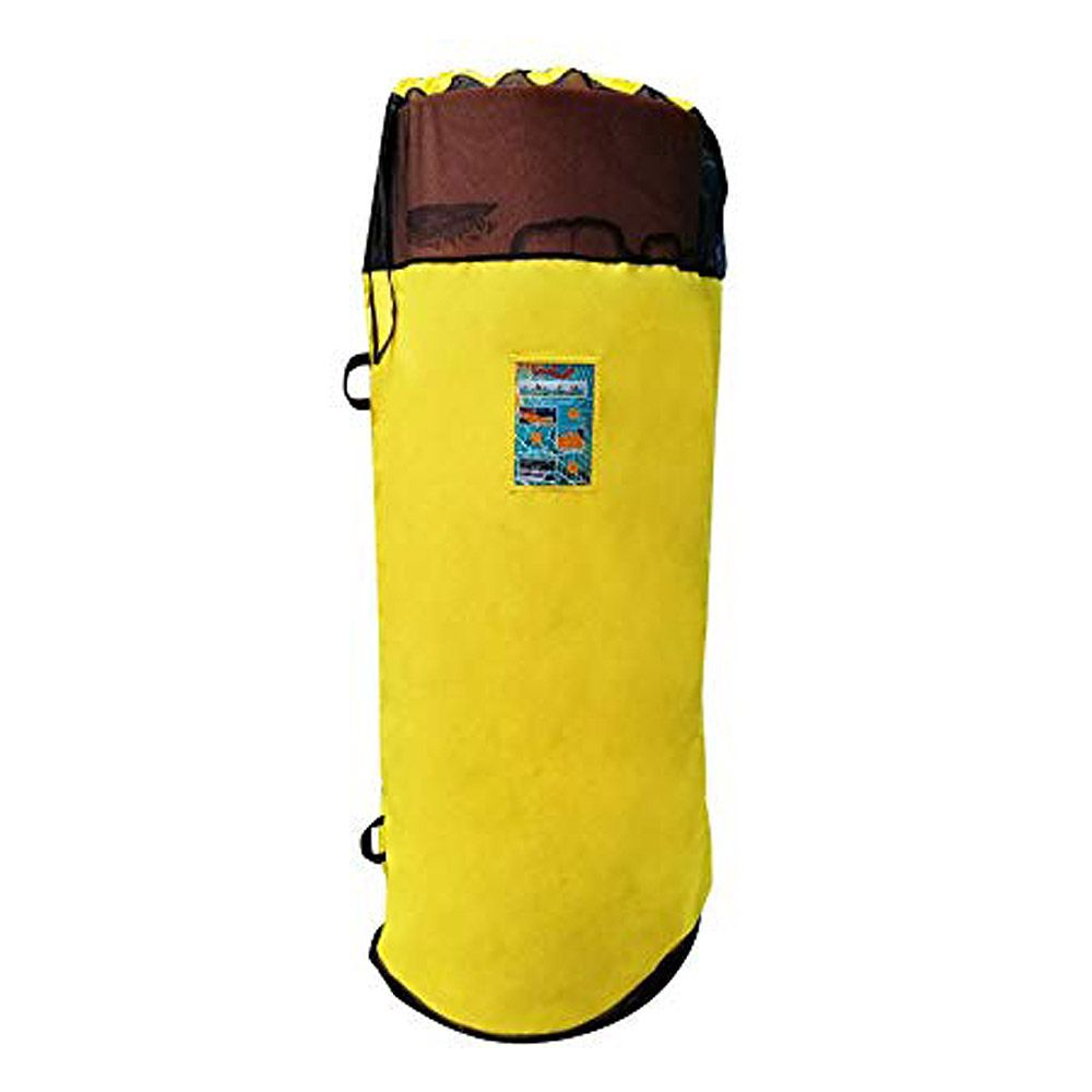 Aqua Lily Yellow XL Storage Bag For Pads Over 18'
