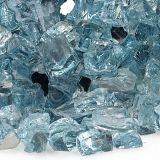 "AFG AFF-AZBLRF12-10 Azuria 10 lbs. Reflective Fire Glass - 1/2"""