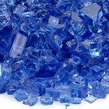 "AFG AFF-COBL-10 Cobalt Blue 10 lbs. Fire Glass - 1/4"""