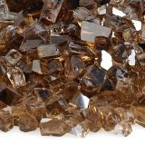 AFG AFF-COPRF-10 Copper 10 lbs. Reflective Fire Glass - 1/4""