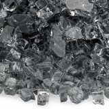 AFG AFF-GRY-10 Gray 10 lbs. Fire Glass - 1/4""