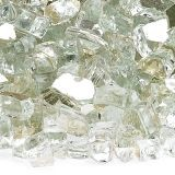AFG AFF-PLATRF-10 Platinum 10 lbs. Reflective Fire Glass - 1/4""