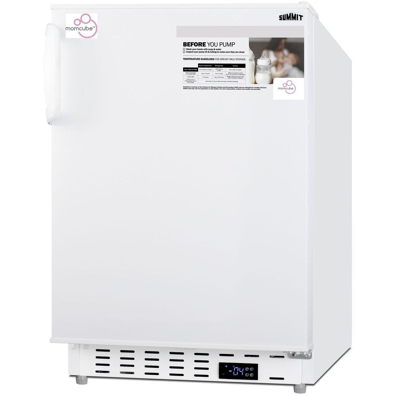 "Summit 20"" Built-In MOMCUBE All-Freezer ADA Compliant"