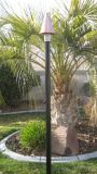 Aluminum / Powder Coated Black Tiki Pole - 7'